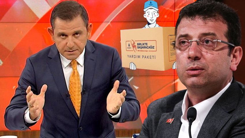 İBB'nin fahiş fiyattaki yardım kolisi Fatih Portakal'ı kızdırdı! Sizde alımları kim yapıyor Başkan?