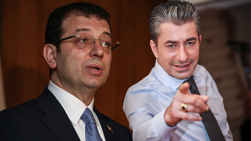 """Erkan Petekkaya'dan İmamoğlu'na şok sözler! """"Terbiyesiz"""""""