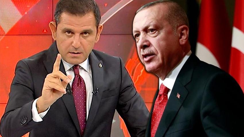 Cumhurbaşkanı Erdoğan Fatih Portakal'dan şikayetçi oldu!