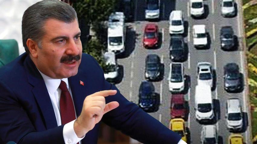 Fahrettin Koca fotoğraf paylaşarak uyardı: Bu gidiş iyi değil!
