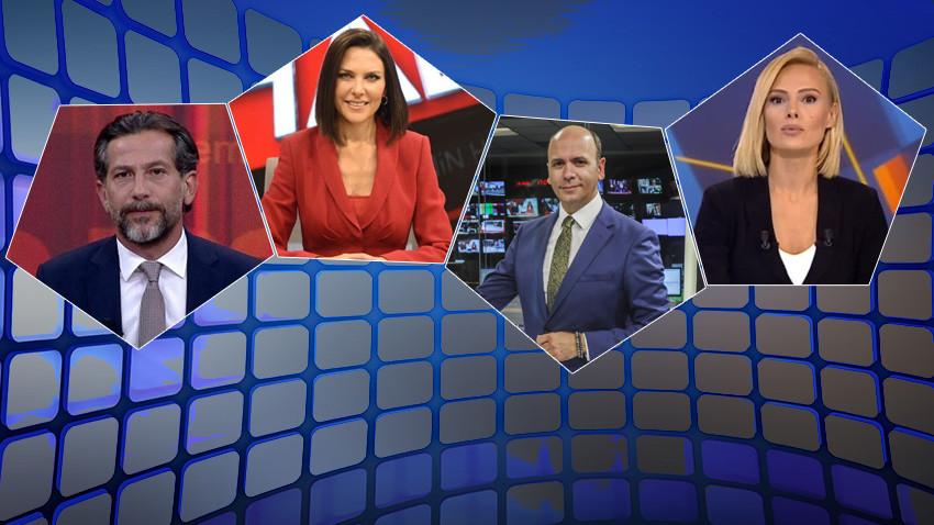 İlginç tesadüf! 4 kanalın Ana Haber Bülteni 'çiftlere' emanet!