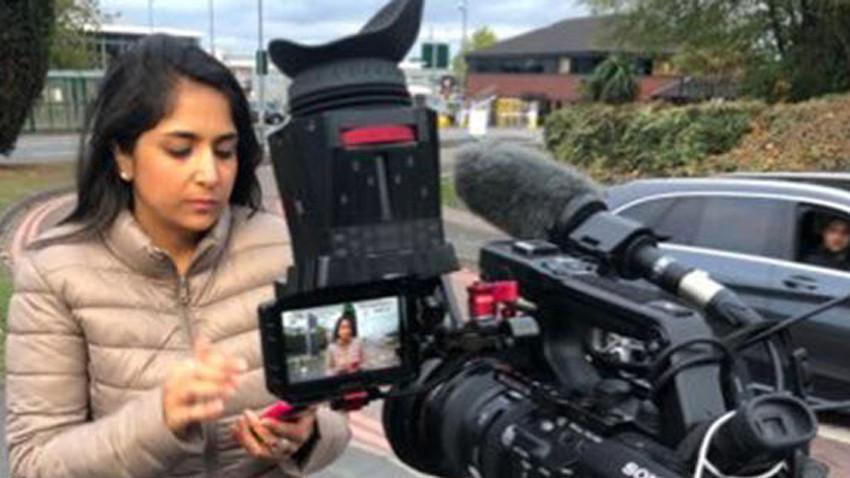 BBC muhabirine canlı yayında ırkçı saldırı