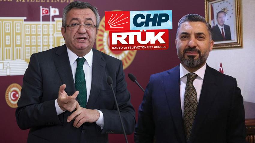 CHP'den RTÜK Başkanına sert tepki: Şarlatanlık yapmak için mi seçildiniz?