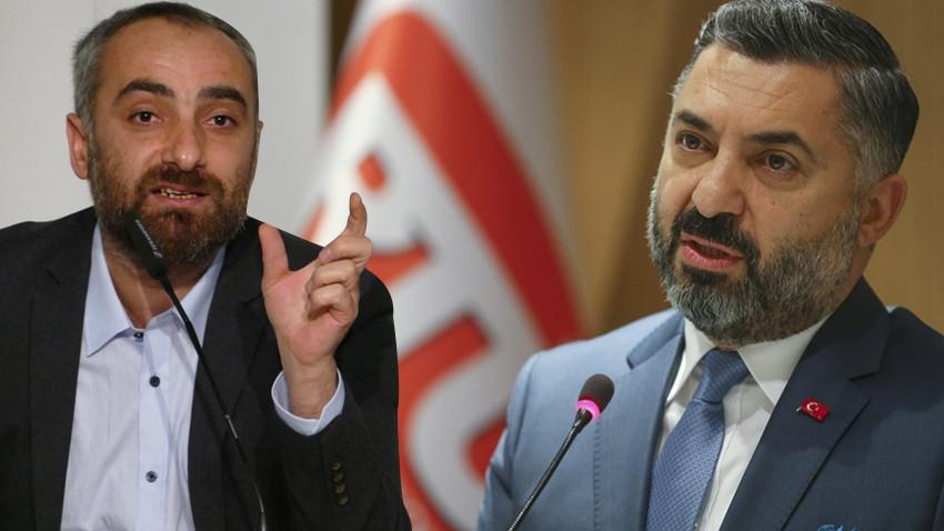 İsmail Saymaz ve RTÜK Başkanı sosyal medyada kapıştı!