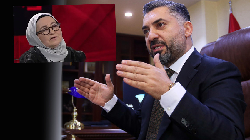 RTÜK Başkanı Şahin'den Sevda Noyan açıklaması: Çok büyütülecek bir konu değil