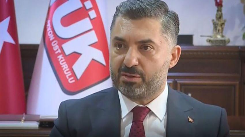 Eski RTÜK üyesi Ali Öztunç: Ebubekir Şahin RTÜK'ün gelmiş geçmiş en militan başkanıdır