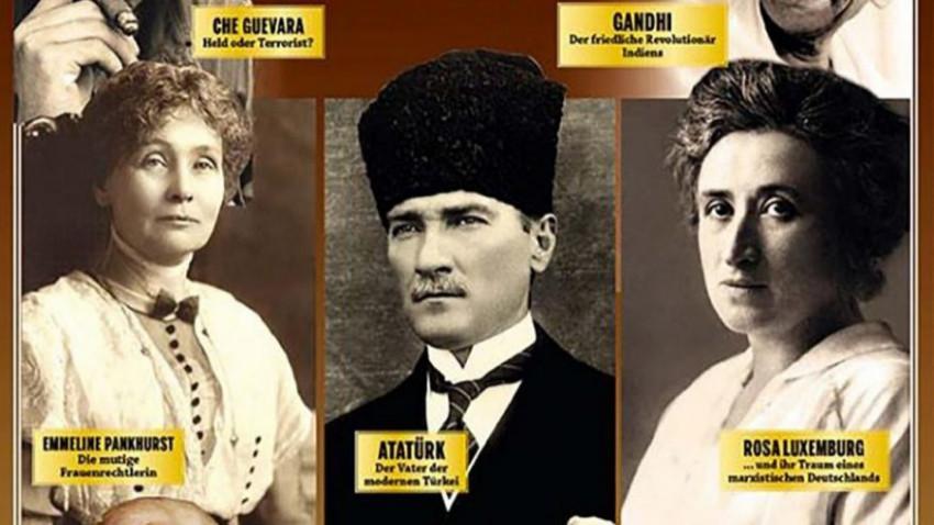 Dünyayı değiştiren isimler! Almanlar Atatürk'ü baş köşeye oturttu!