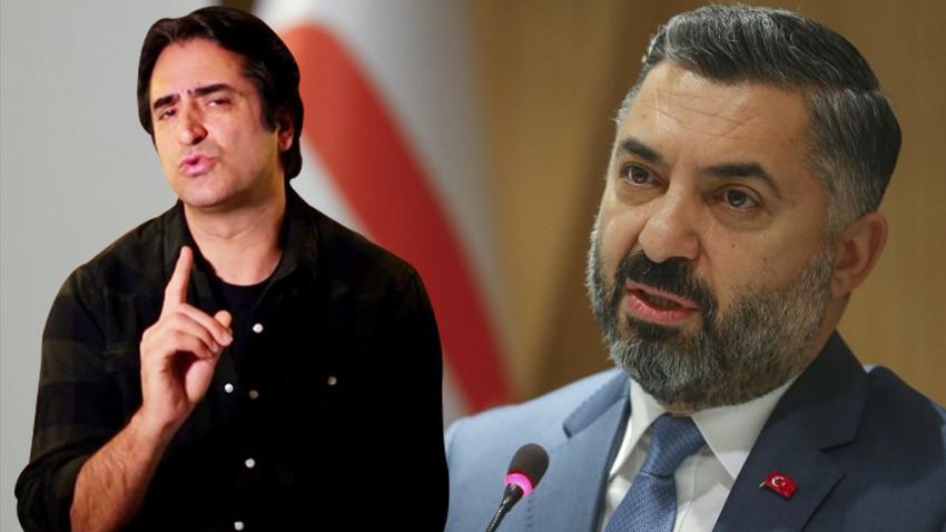 """Mahsun Kırmızıgül'den RTÜK Başkanı'na olay tepki! """"12 Eylül darbecileri gibi..."""""""