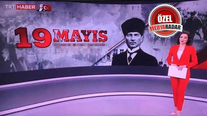 TRT Haber'de skandal 19 Mayıs hatası! 'Bu kadarı da olmaz' dedirtti!