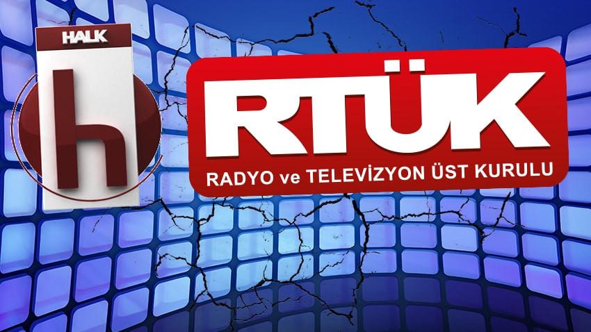 RTÜK'ten Halk TV'ye yeni cezalar! 5 programa daha para cezası!