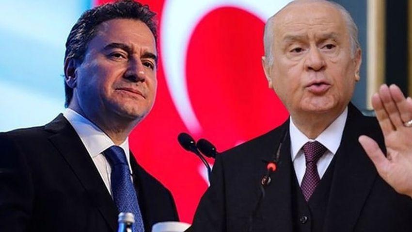 MHP'den zehir zemberek Babacan açıklaması: Kraliçe'nin Gül'ünün sahaya sürdüğü piyon...