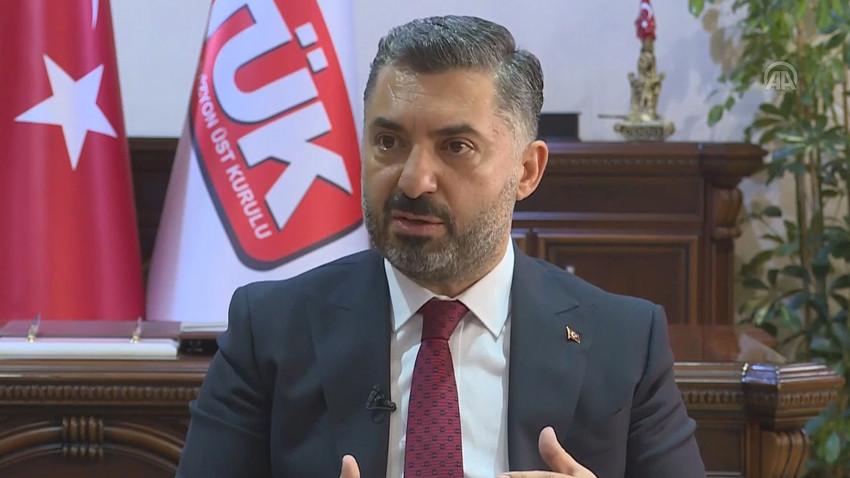 RTÜK Başkanı Halkbank Yönetim Kurulu'na atandı