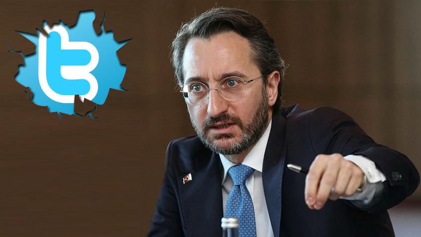 İletişim Başkanı Altun'dan 'Twitter' açıklaması!