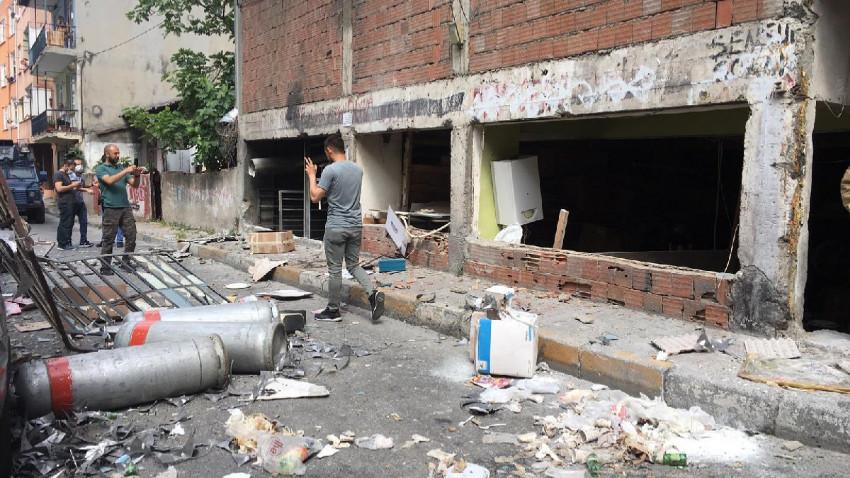 Okmeydanı'nda iş yerinde patlama: 5 yaralı