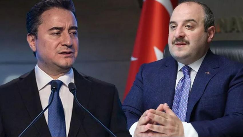 """Bakan Mustafa Varank'tan Ali Babacan'a sert tepki! """"Asıl utanç verici olan..."""""""
