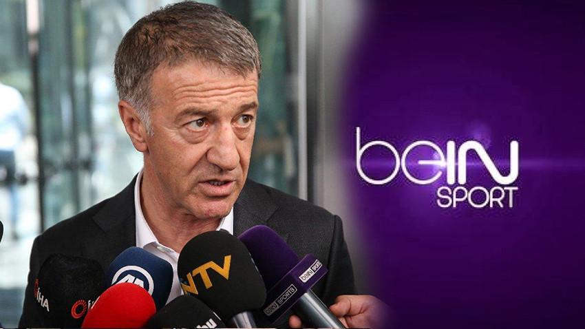 """Ahmet Ağaoğlu beIN Sports'a isyan etti: """"Saygı duyacaksınız"""""""