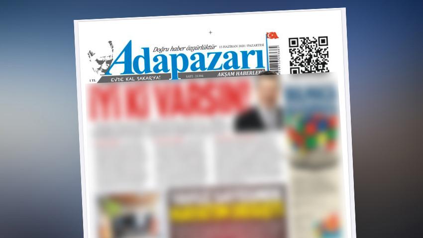 """Yerel gazeteden olay protesto! Birinci sayfasını""""güzelliklere"""" ayırdı"""