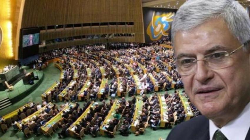 BM Genel Kurulu'na ilk Türk başkan