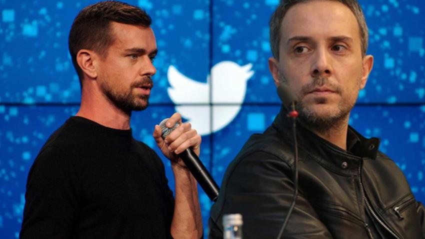 """Sabah yazarından Twitter'ın kurucusuna tepki! """"Beni de sansürlüyor musun Jack?"""""""