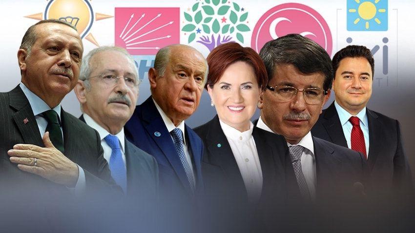 CHP seçmeni HDP'ye, AKP seçmeni DEVA ve Gelecek Partisi'ne yöneldi