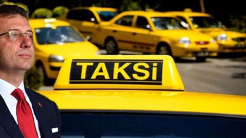 Taksicilerden İmamoğlu'na tehdit gibi açıklama