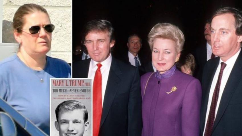 Ailede kitap krizi: Trump'ın kardeşi yeğeninin kitabı için mahkemeye başvurdu!