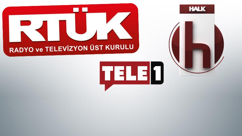 RTÜK'ten TELE 1 ve Halk TV'ye büyük ceza!