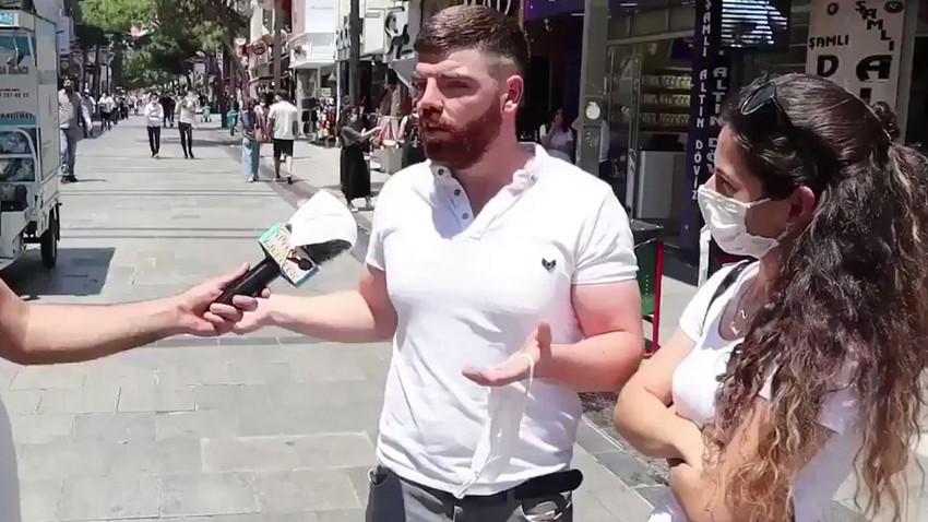 """Bu sokak röportajı sosyal medyayı salladı! """"Köpek gibi çalışıyorum et yiyemiyorum!"""""""