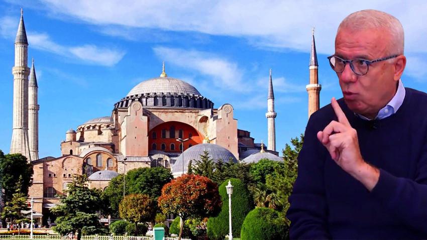 """Ertuğrul Özkök'ten bir Ayasofya çıkışı daha: """"Başından beri eleştiriyorum, yaptırım olursa..."""""""
