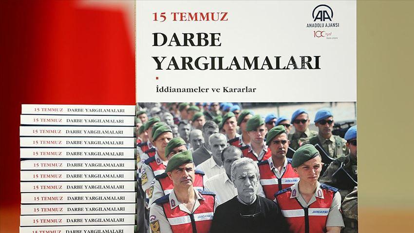 """AA'dan """"15 Temmuz Darbe Yargılamaları"""" kitabı"""