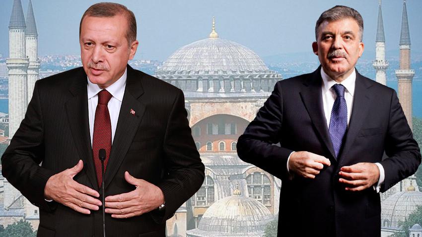 Sürpriz Ayasofya telefonu! Gül tebrik, Erdoğan davet etti!