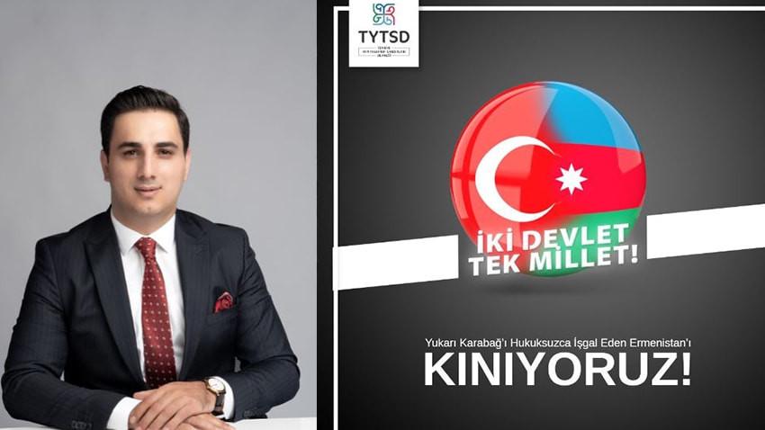 Serdar Kolo'dan Azerbaycan'a destek mesajı
