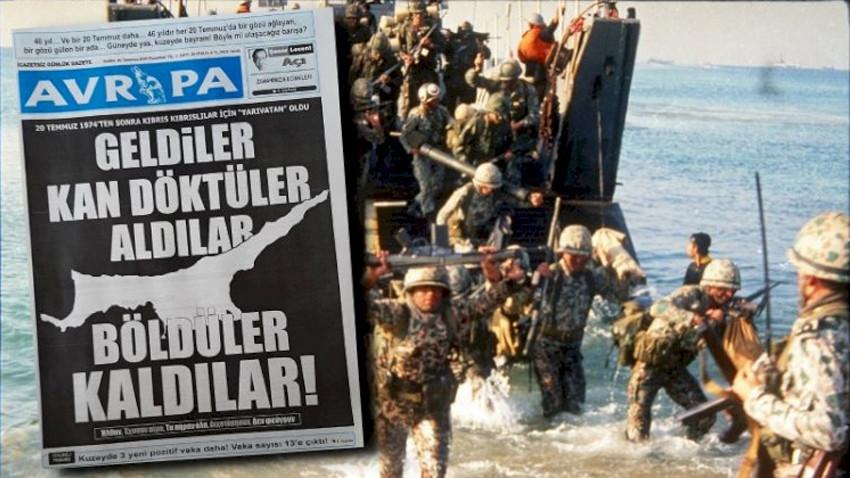 Yine aynı gazete! KKTC'de ortalığı karıştıracak manşet