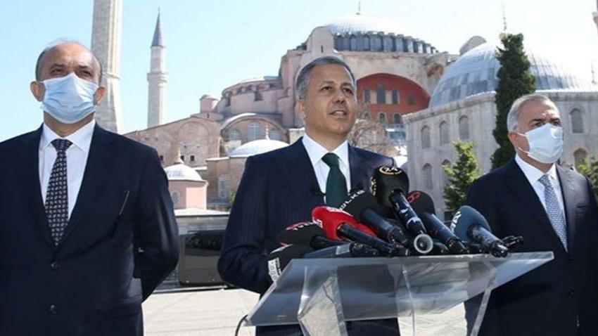 İstanbul Valisi açıkladı! İşte Ayasofya'daki namaz için alınan önlemler!
