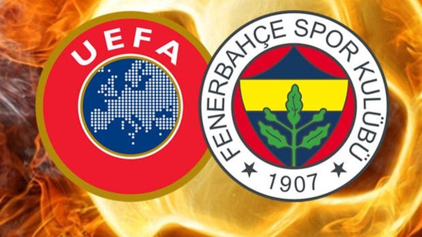 UEFA'dan Fenerbahçe'ye şok ceza