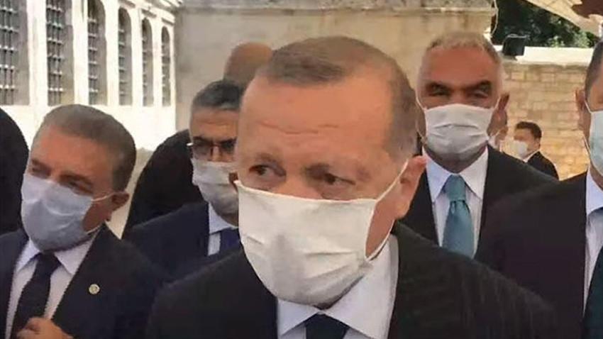 Ayasofya'daki namaza kaç kişi katıldı? Erdoğan açıkladı