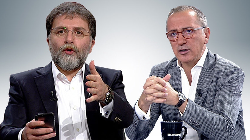 """Fatih Altaylı'dan Ahmet Hakan'a olay sözler! """"Çağrıldığında ayakların kıçına vurarak koşuyorsun"""""""