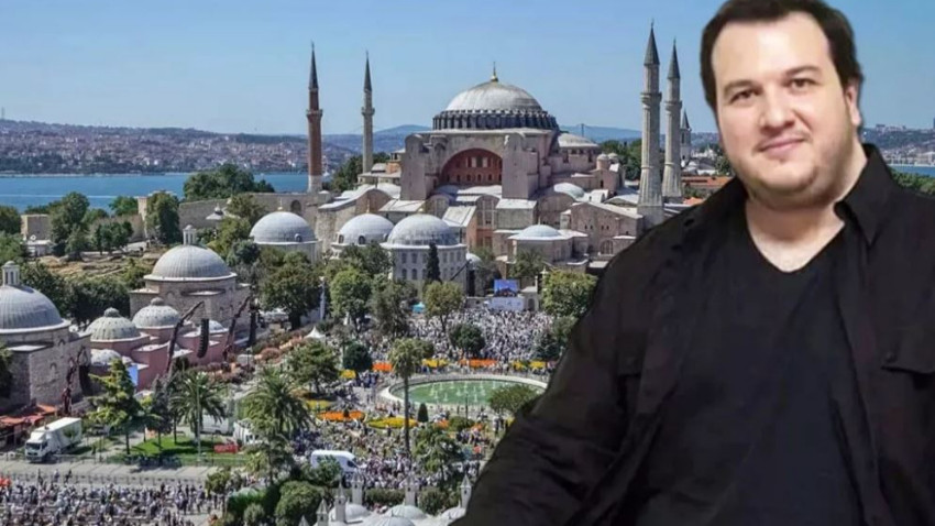 Şahan Gökbakar'dan Ayasofya ve Atatürk paylaşımı!