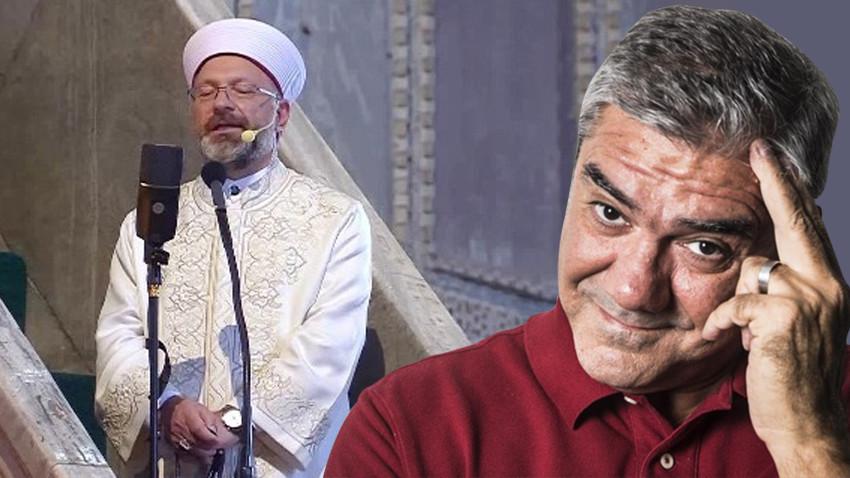 """Yılmaz Özdil'den Ali Erbaş'a çok sert sözler! """"Nankörlüğünü gösteren..."""""""