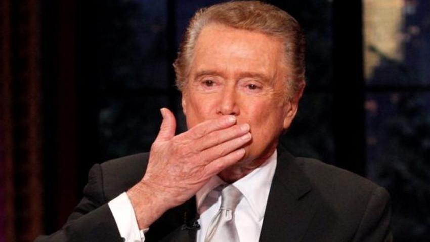 ABD'li sunucu Regis Philbin 88 yaşında hayatını kaybetti
