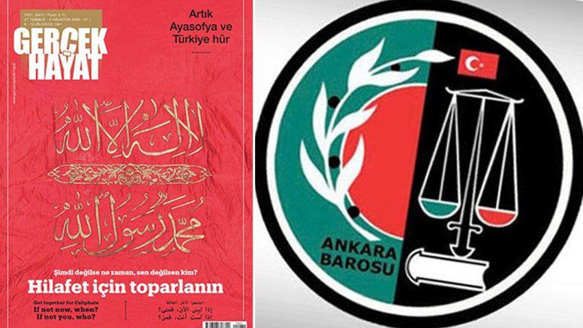 Ankara Barosu'ndan 'hilafet çağrısı' için suç duyurusu