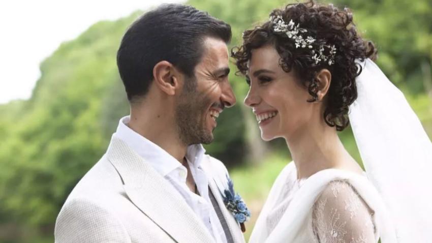 Ünlü oyuncu dünya evine girdi! Sürpriz nikahtan kareler...