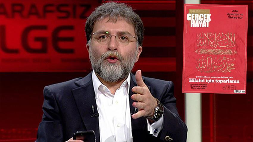 'Hilafet' tartışmalarına Ahmet Hakan da katıldı: Zevzekliğin lüzumu yok