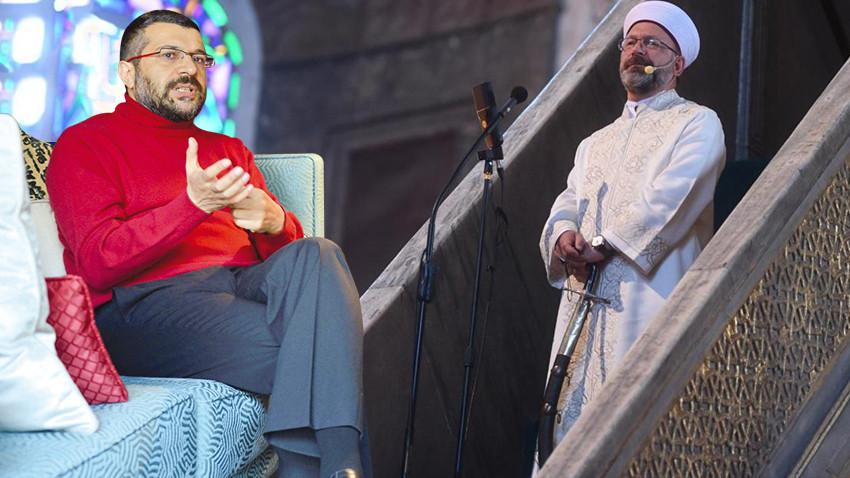 Soner Yalçın o soruya cevap aradı: Ali Erbaş'ın elindeki kılıç neyin şifresi?