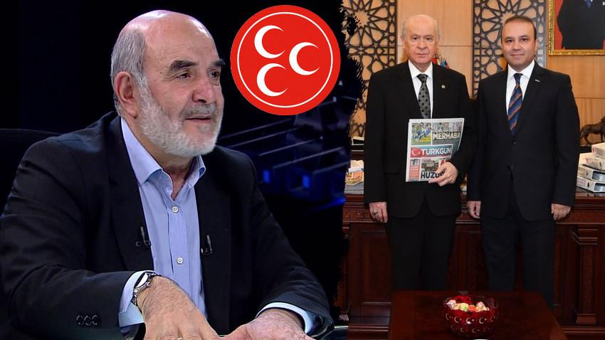 MHP'den Ahmet Taşgetiren'e ağır tehdit!