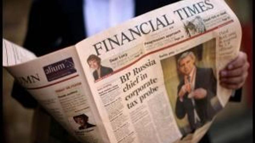 FINANCIAL TIMES ''KUZEY KIBRIS TÜRK CUMHURİYETİ'' DEDİ, RUMLAR AYAKLANDI