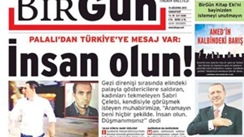 PALALI SABRİ'DEN MEDYAYA TEHDİT; DÜŞMANIMSINIZ!