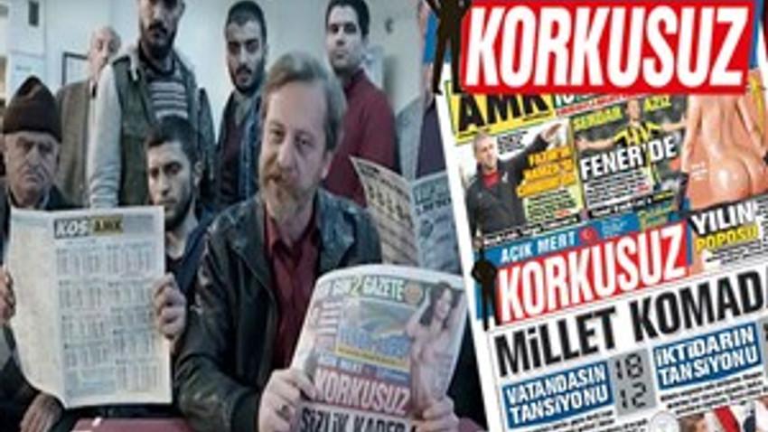 'Korkusuz' gazetesi ilk haftasında ne kadar sattı?