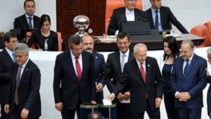 Meclis Başkanlığı oylaması son tura kaldı