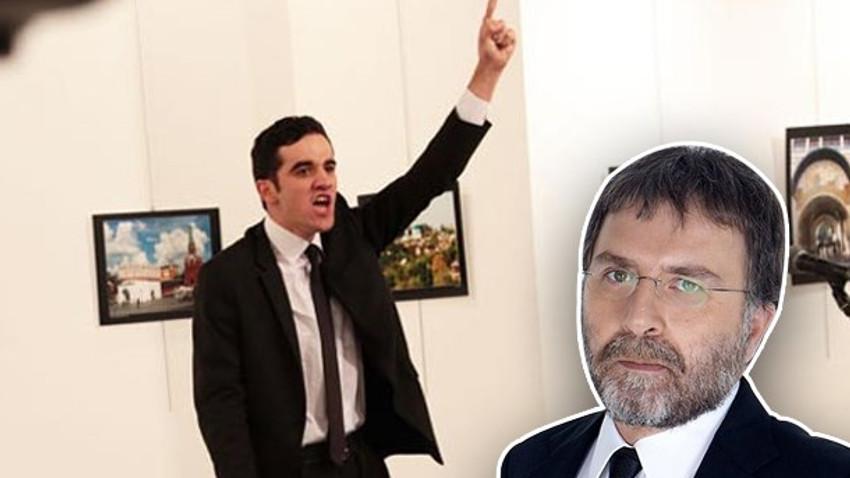 Ahmet Hakan yazdı: Büyükelçinin katili 'radikal İslamcı eylemci' taklidi yaptı!